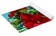 Hibiscus In Naptown Yoga Mat