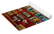 Hockey Game Fairmount And Clark Wilensky's Diner Yoga Mat