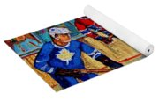 Hockey  Hero Yoga Mat