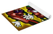 Hot Peppers Yoga Mat