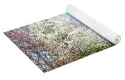 House On The Hill In Spring Yoga Mat