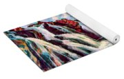 Iceland Waterfalls Yoga Mat
