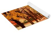 In Autumn Yoga Mat