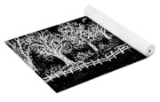 In The Dark Of The Night Yoga Mat