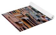 In The Heart Of Town Yoga Mat