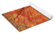 In The Presence Of Light Meditation Yoga Mat