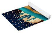 Indigo Desert Night Yoga Mat
