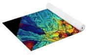 Insulin Crystals Light Micrograph Yoga Mat