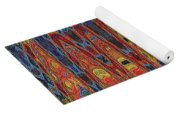 Interesting Abstract Yoga Mat