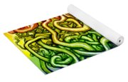 Interwoven Twisted Vines Of Life Yoga Mat