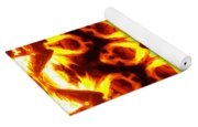 Into The Fire Yoga Mat