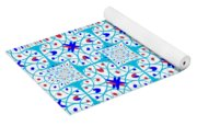 Intricate Geometric Pattern Yoga Mat