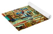 Irish Pubs And Bistros Downtown Montreal Yoga Mat