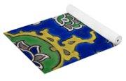 Iznik Tiles In Topkapi Palace Istanbul  Yoga Mat