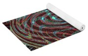 Janca Abstract Ovoid Panel 9646w9a Yoga Mat