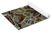 Janca Oval Abstract 4917 W3a Yoga Mat