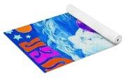 Janis Stamp Painting Yoga Mat