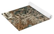 Japan: Earthquake, 1855 Yoga Mat