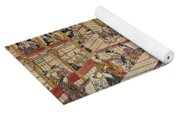 Japan: Kabuki Theater Yoga Mat