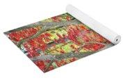 Japanese Maple Tree And Pond Yoga Mat
