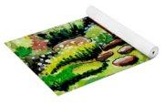 Japanese Tea Gardens Yoga Mat