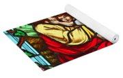 Jesus And Children Yoga Mat