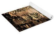 Jesus Is Coming Soon Yoga Mat