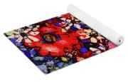 Joyful Flowers Yoga Mat