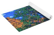 Juniper Trees And Deer Yoga Mat