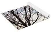 Just A Tree And Clouds Yoga Mat