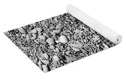 Just Rocks - Black And White Yoga Mat