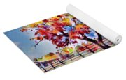 Kaleidoscope Of Colors Yoga Mat