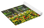 Keukenhof Ornamental Garden. Yoga Mat