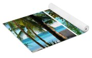 Key West Palm Triplets Yoga Mat