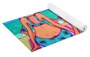 Kite Flying 101 - Girlfriends On Beach Yoga Mat