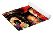 Label The Brain Through The Eyes - Lords Of Madness Yoga Mat