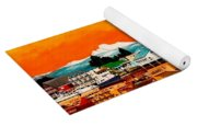 Laconner Last Water Front Panel Painting Yoga Mat