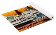 Laconner Waterfront Art Panel Yoga Mat