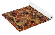 Lake Of Fire Yoga Mat