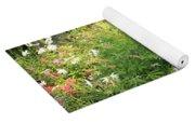 Lake Tahoe Flower Garden Yoga Mat