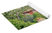 Landscape With Fruit Trees Yoga Mat