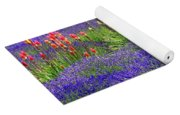 Lavender And Flowers Oh My Yoga Mat