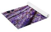 Lavender Fields Yoga Mat