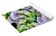 Lavender Ranunculus  Yoga Mat