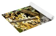 Layered Reflections Yoga Mat