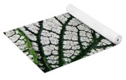 Leaf Abstract 19 Yoga Mat