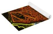 Leaf Interpretation Yoga Mat