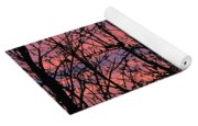 Leafless Silhouette Yoga Mat