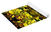 Leaves In The Fall Design Yoga Mat