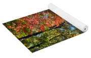 Leaves Of All Colors Yoga Mat